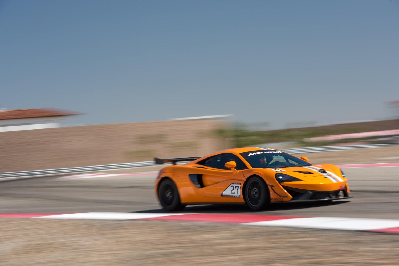 McLaren track day