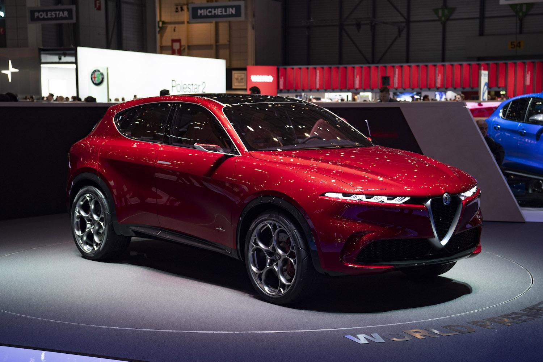 Alfa Romeo Tonale Concept Car Geneva Show