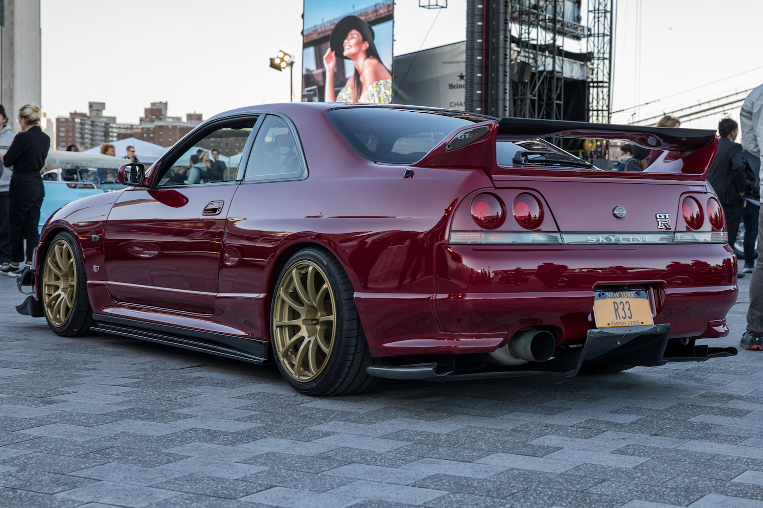 New York City Inaugural Concours Nissan GTR