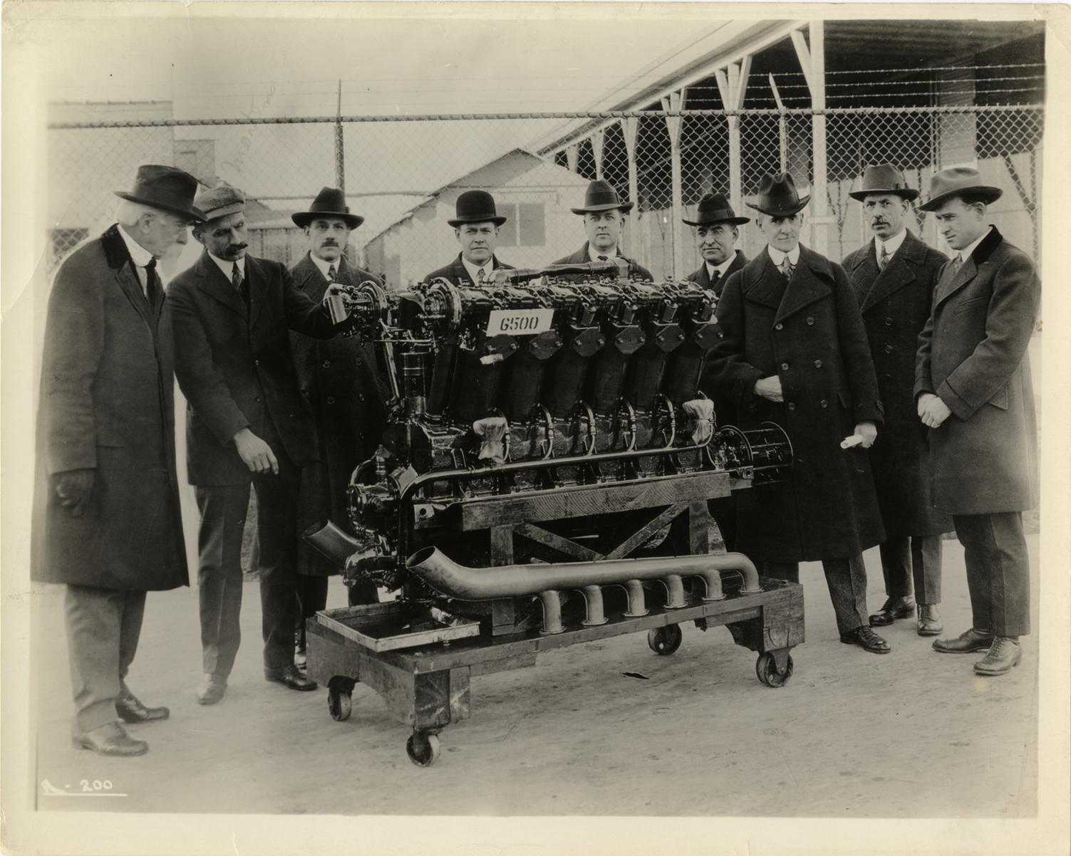 leland liberty engine