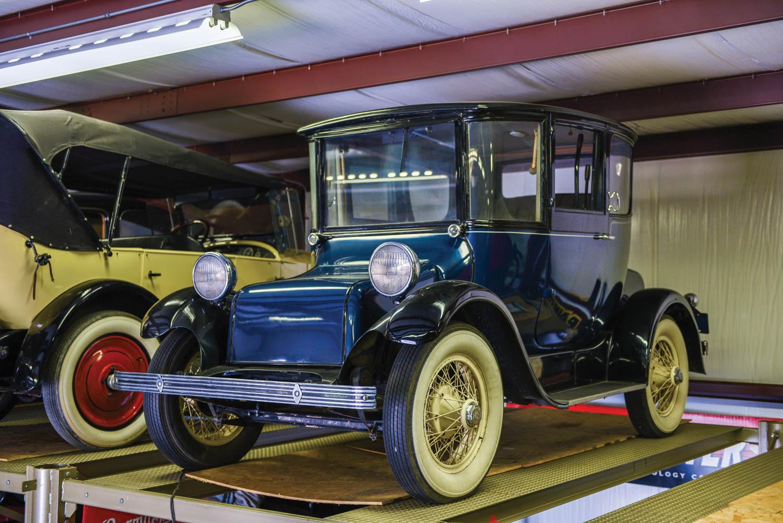 1926 Detroit Electric Model 98 Brougham