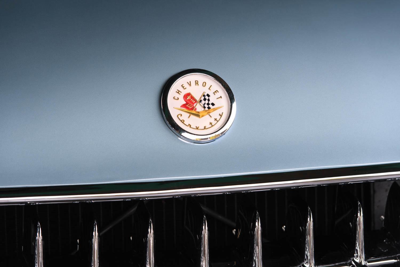 1956 Chevrolet Corvette badge