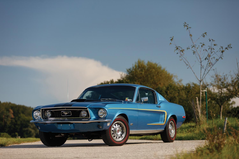 1968 Ford Mustang GT 428 CJ Fastback
