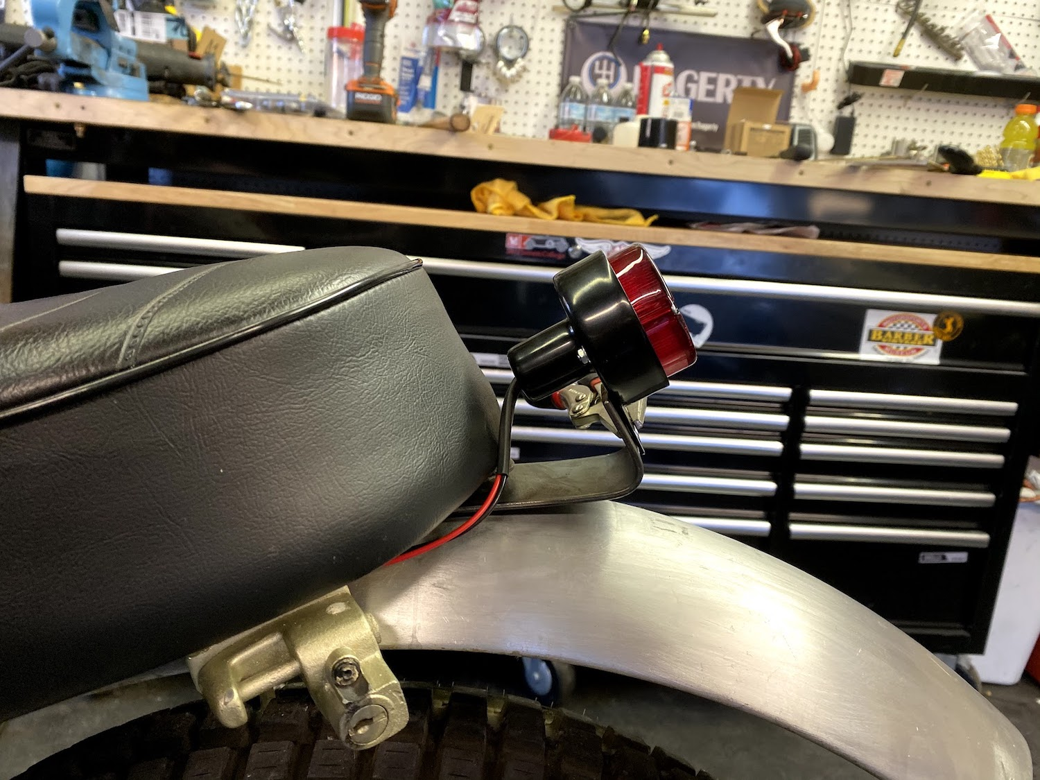 Motorcycle Fabrication Taillight