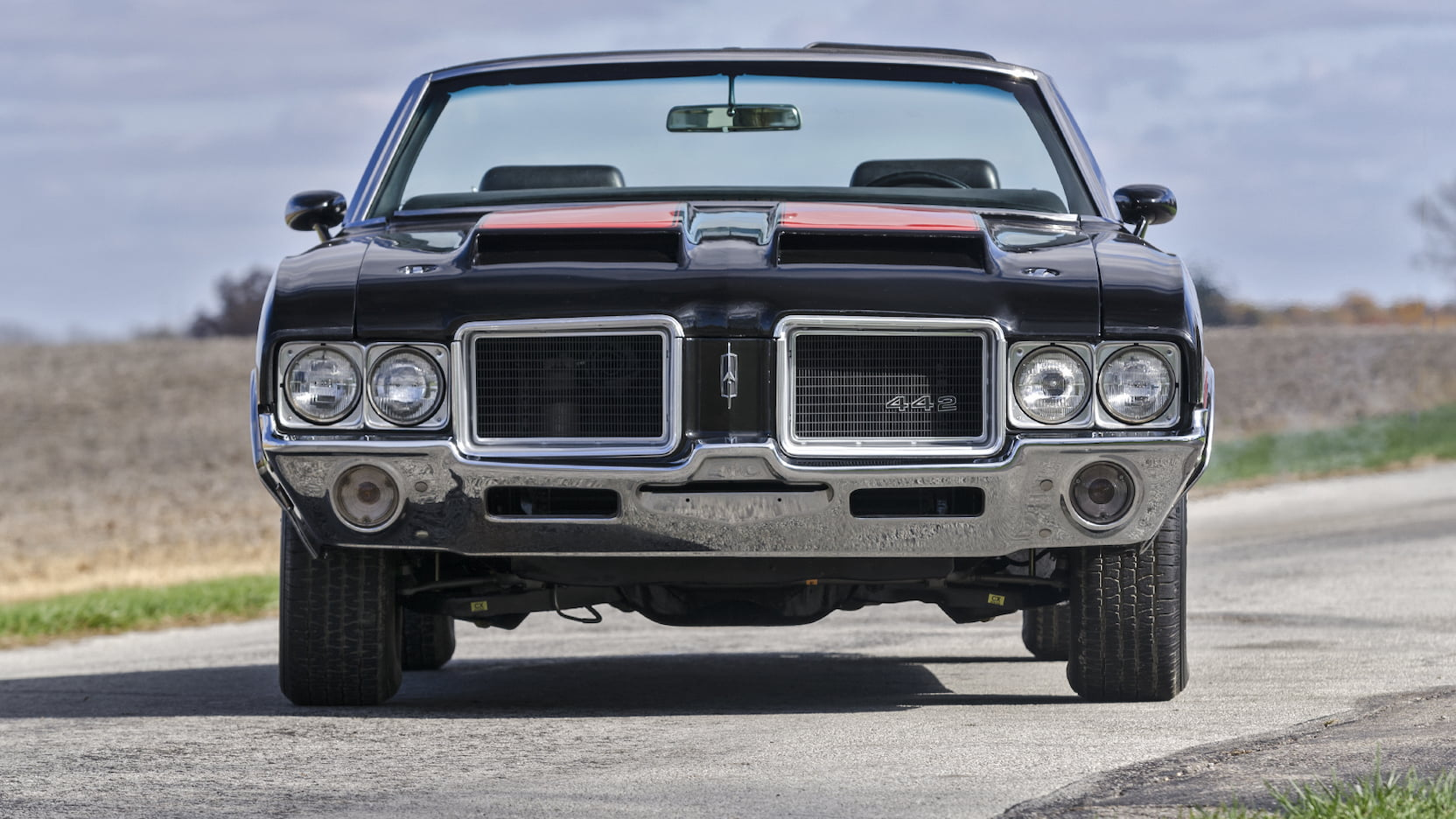 1971 Oldsmobile 442 front