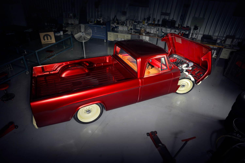1968 Dodge D200 pickup SEMA custom