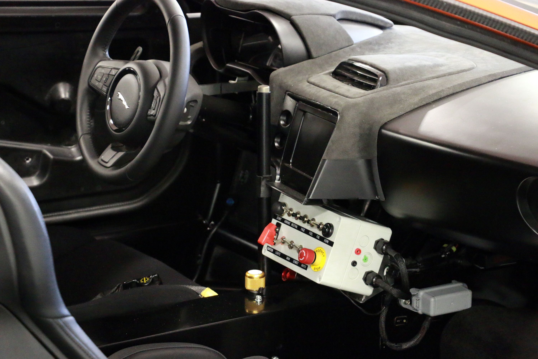Jaguar CX75 stunt car bond spectre interior