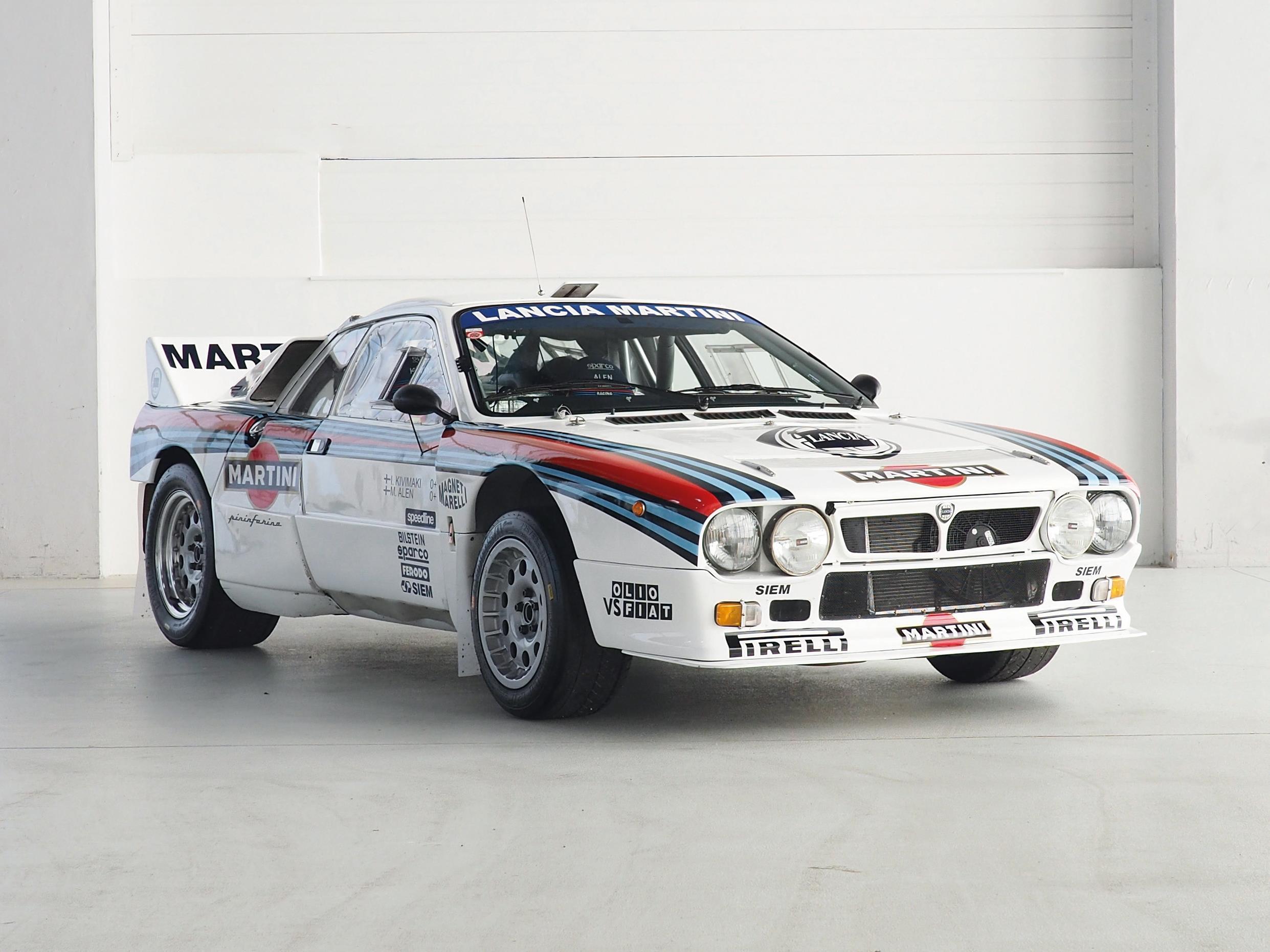 1983 Lancia Rally 037 Evo 2