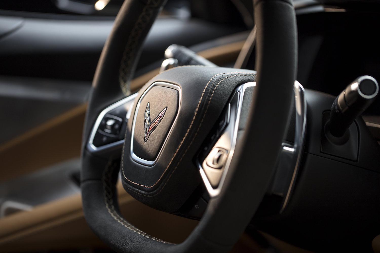 C8 Corvette Wheel Detail