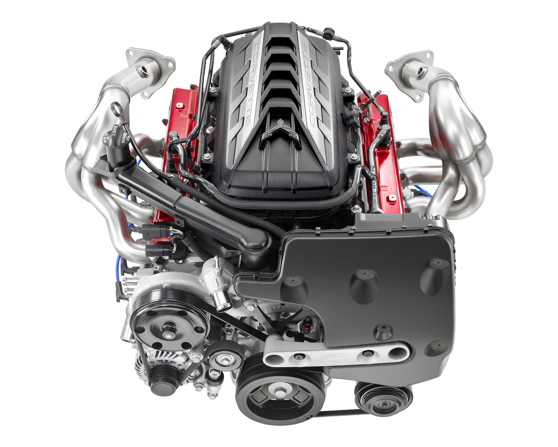GM Chevrolet 2020 C8 Corvette Powertrain