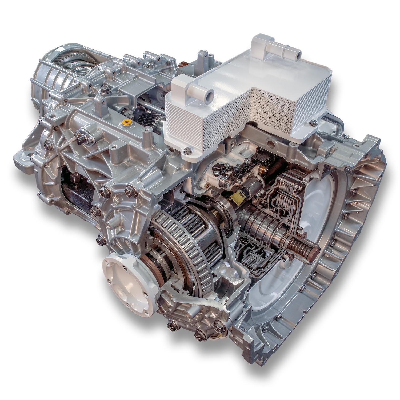 Chevrolet C8 Corvette Transmission Cutaway
