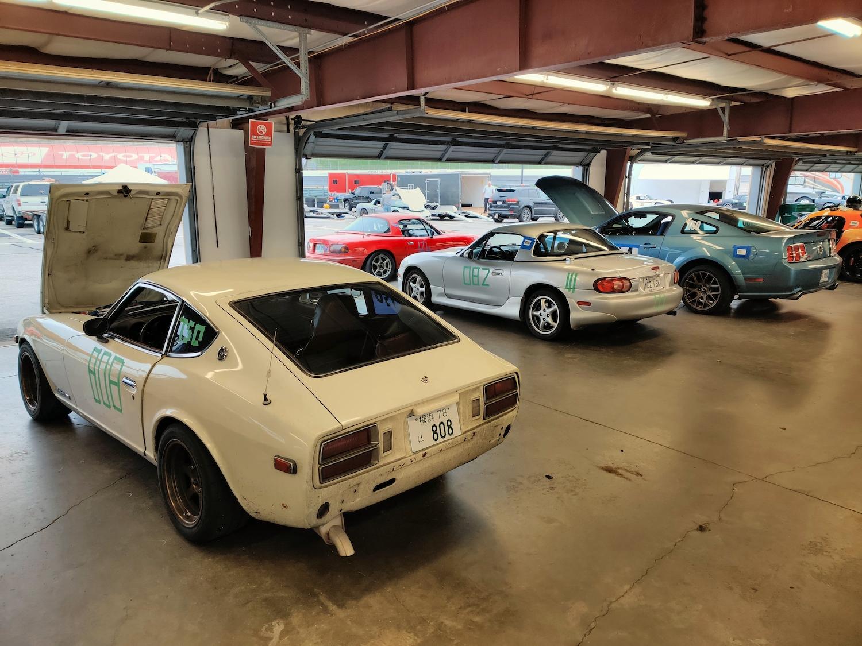 Datsun Miata Mustang Racecars