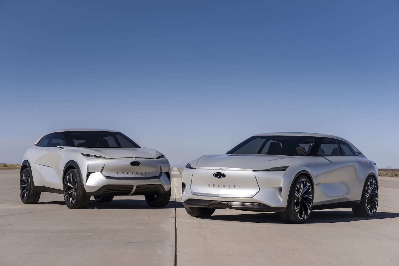 Infiniti Q Concept Vehicles