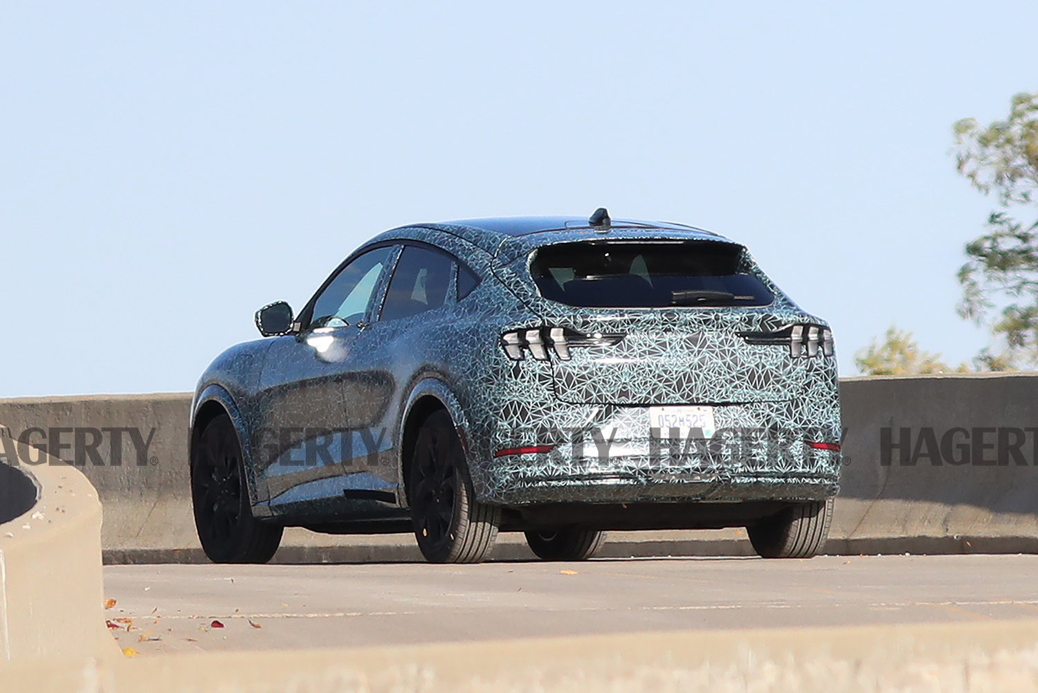 Mustang-inspired Electric Crossover Leak