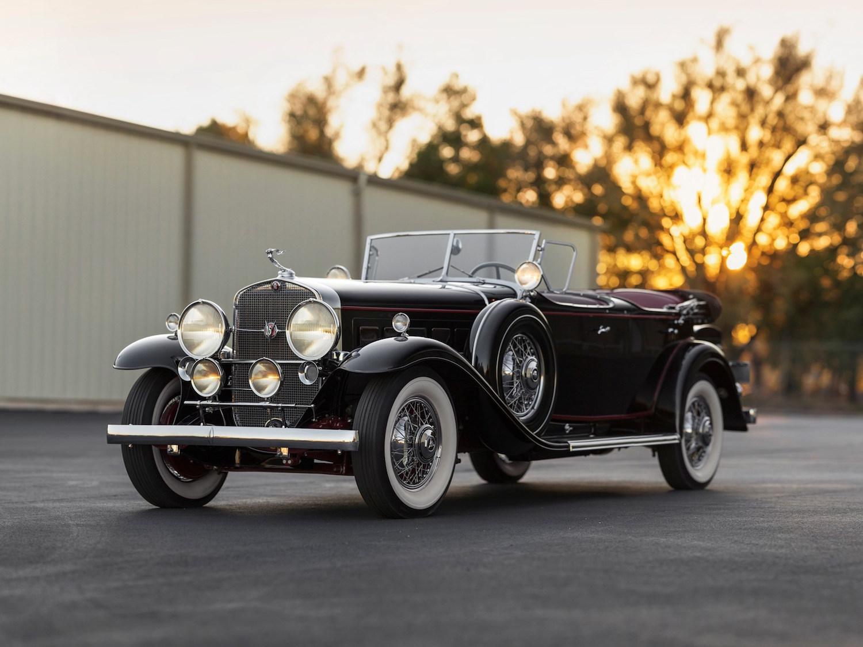 1930 Cadillac V-16 Sport Phaeton Fleetwood