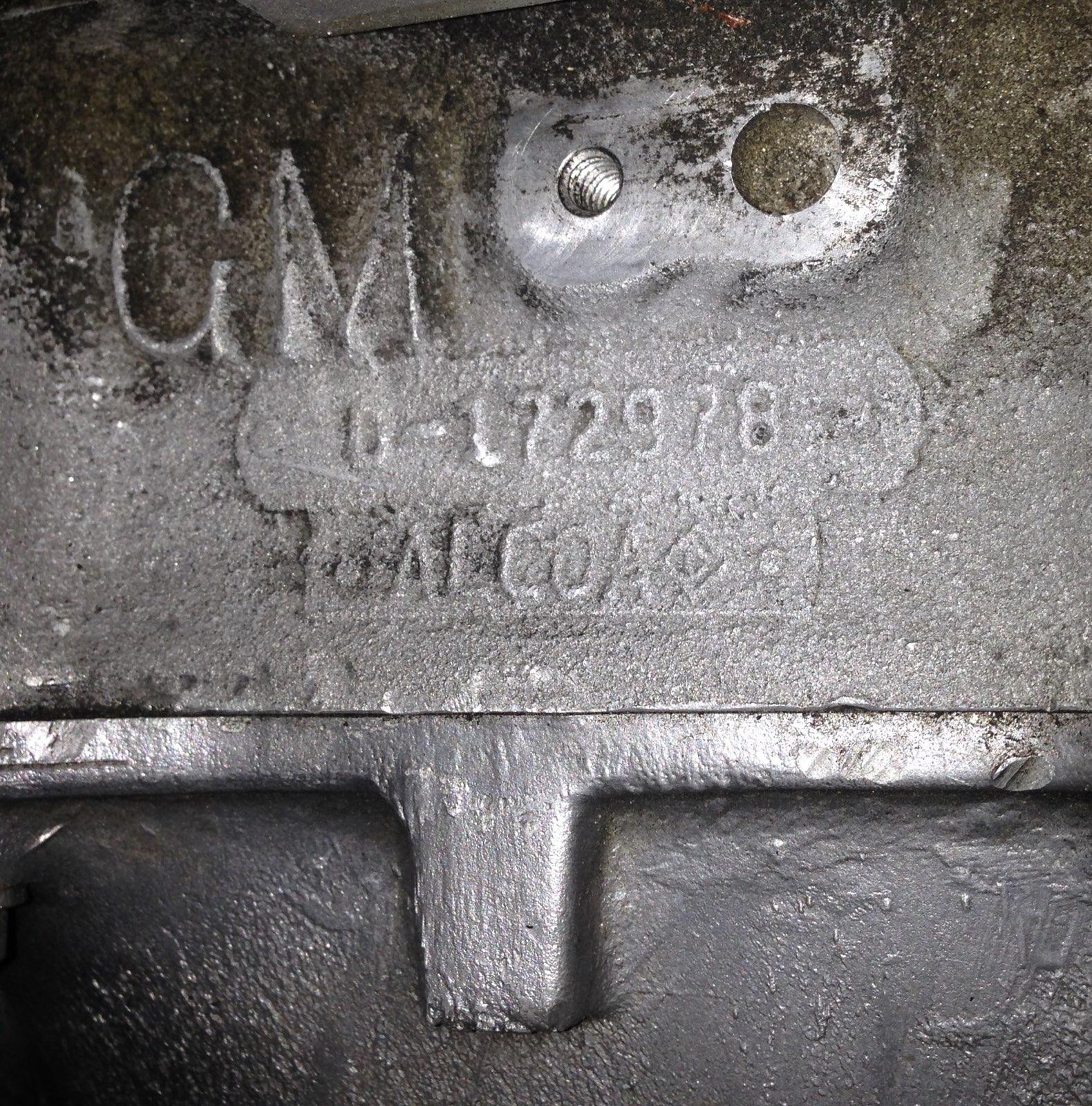 Aluminum 283 casting number