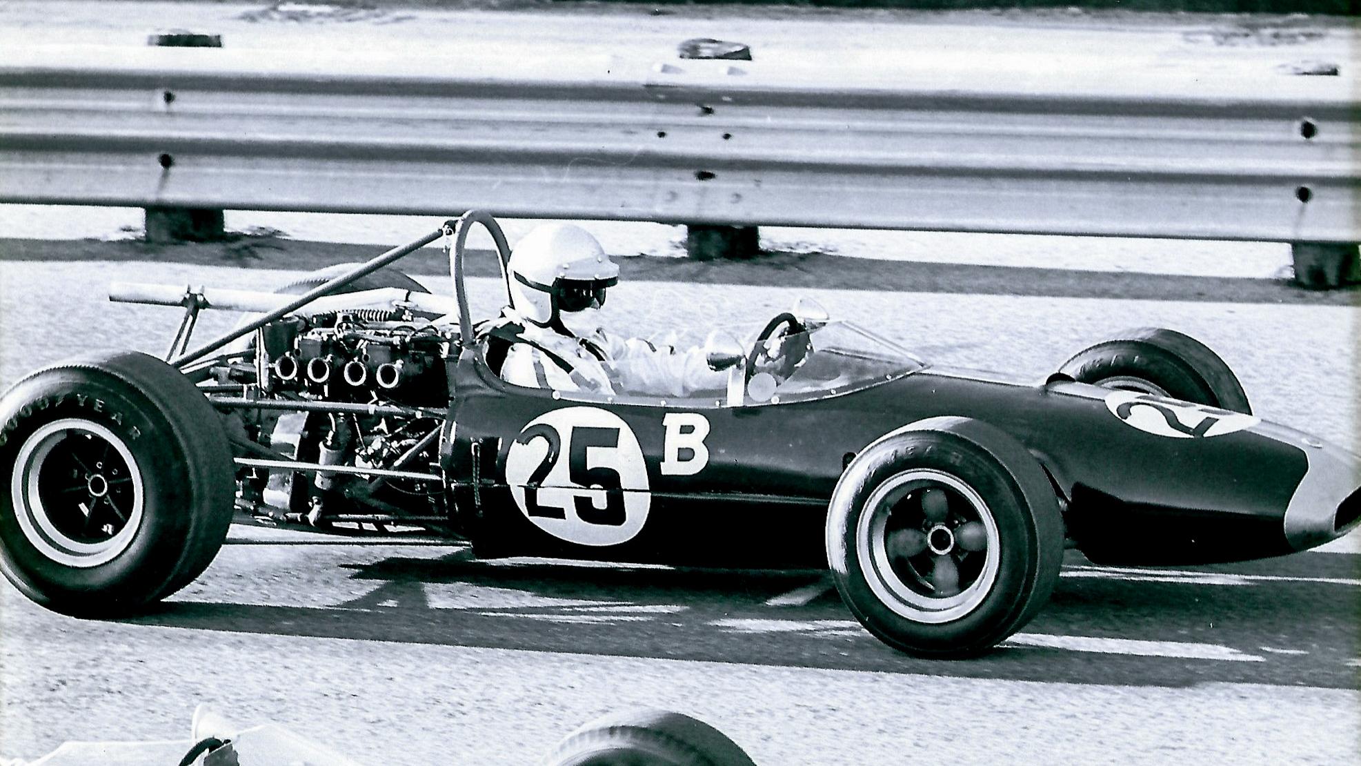 Frank Monise Lotus 22 First Race