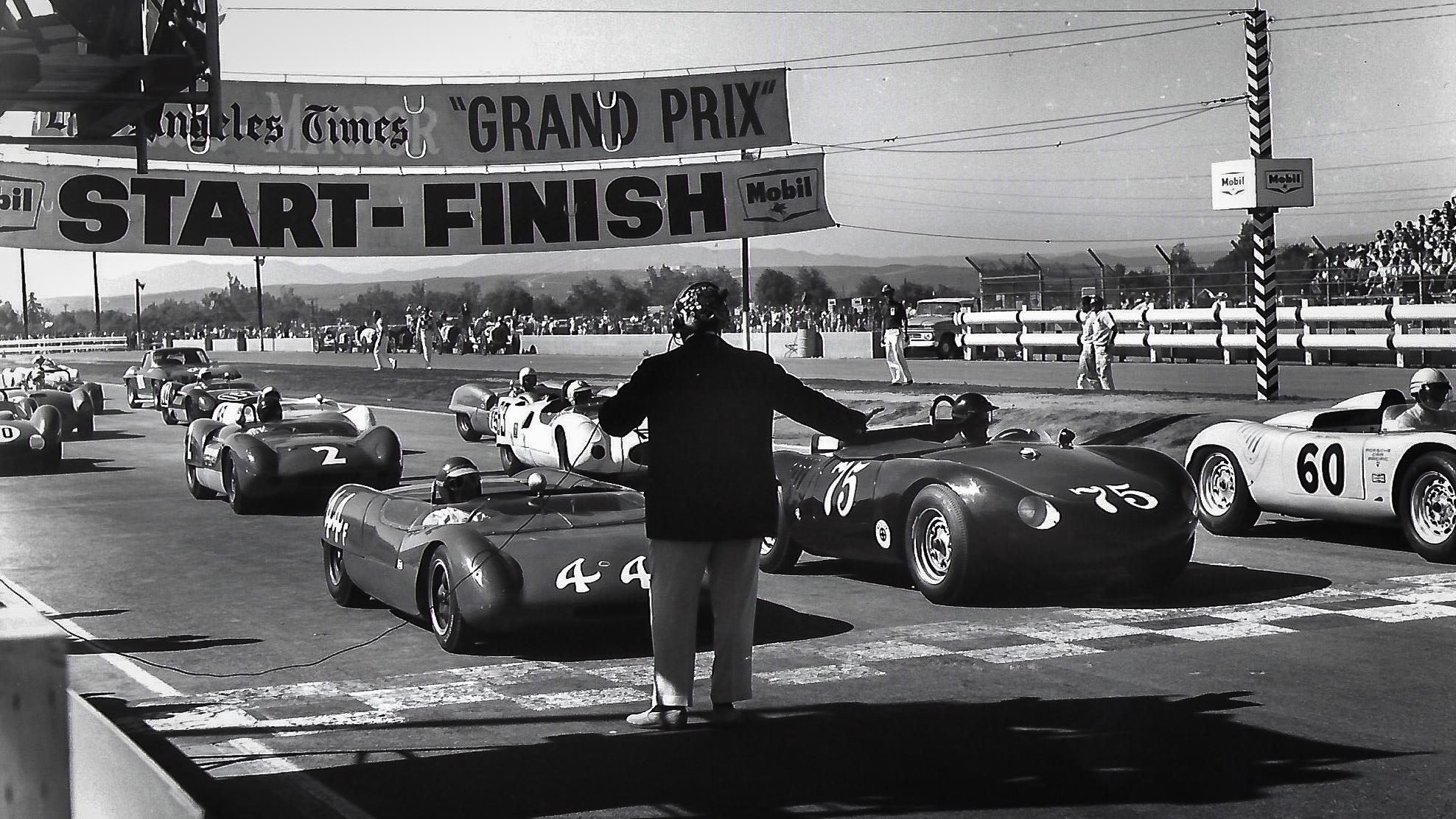 1963 LA Times Grand Prix Riverside California Starting Grid