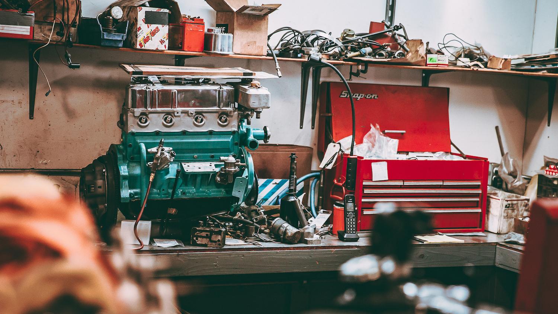 Sunbeam Harrington Le Mans Engine