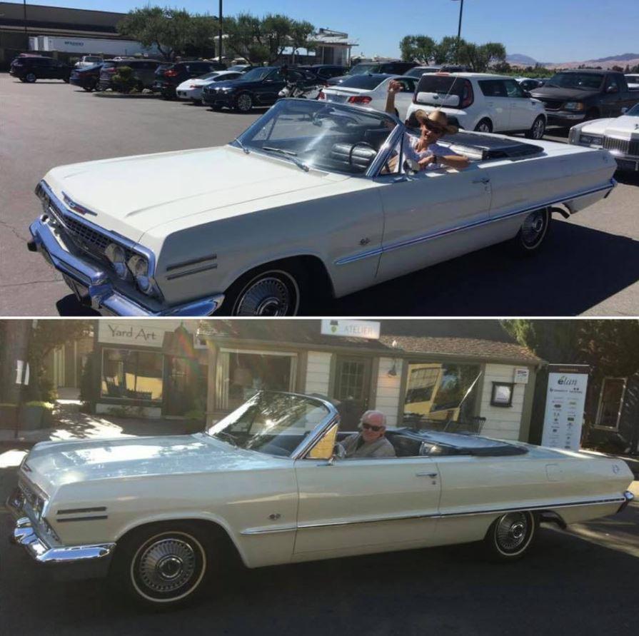 stolen 1963 Impala