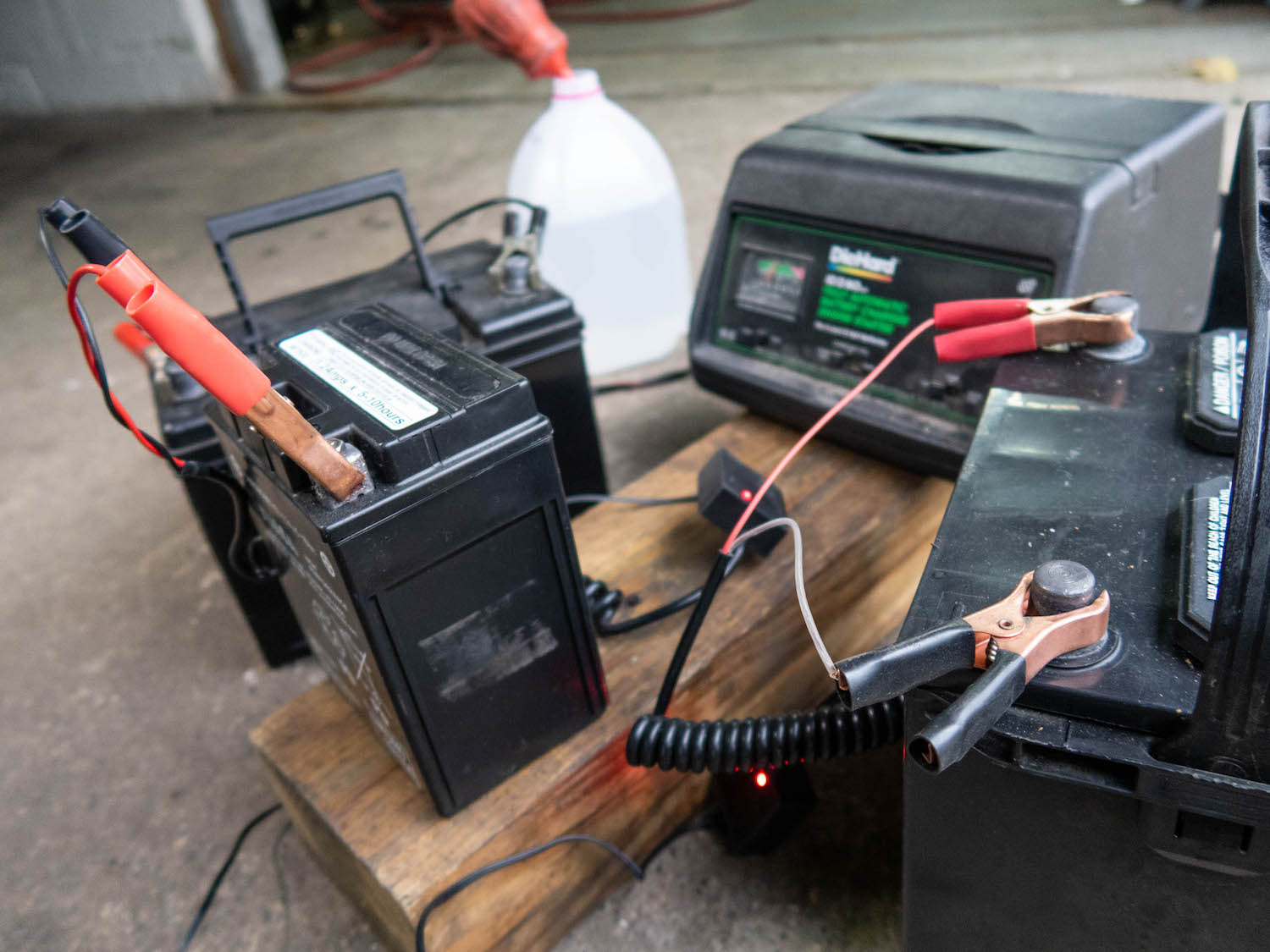 Battery Trickle Charging