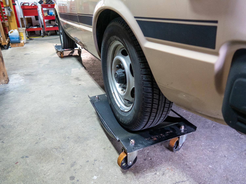Car Storage Wheel Dolly