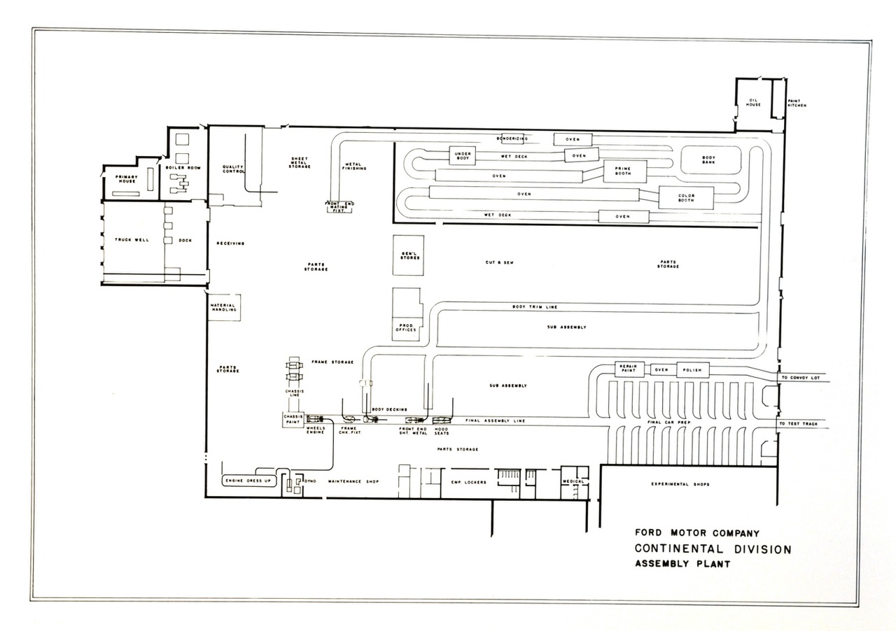 Ford Plant Floor Plan