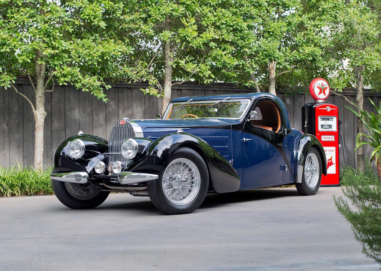 1938 Bugatti Type 57C Atalante Coupe