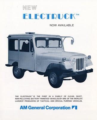 AMC Jeep Electruck Ad