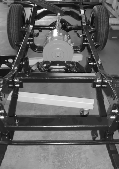 AMC Jeep Electruck Wheels Chassis