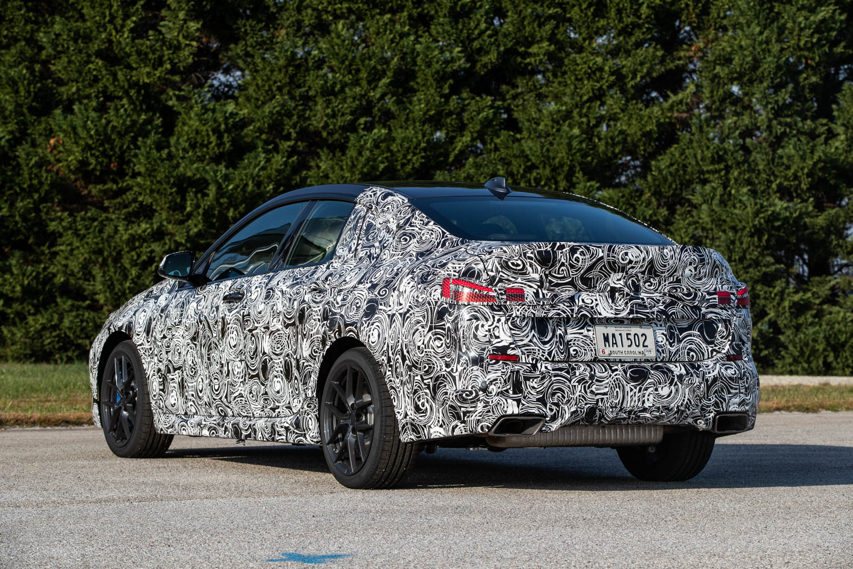 BMW M235i xDrive Prototype rear 3/4