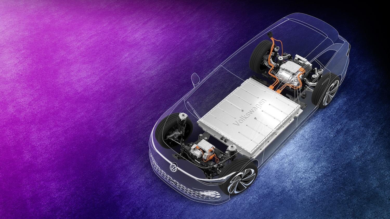 VW ID space vizzion concept electric vehicle