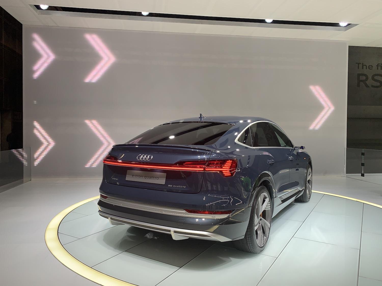 Audi etron rear exterior