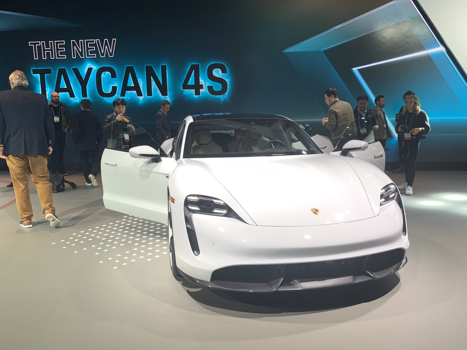 New taycan 4s front