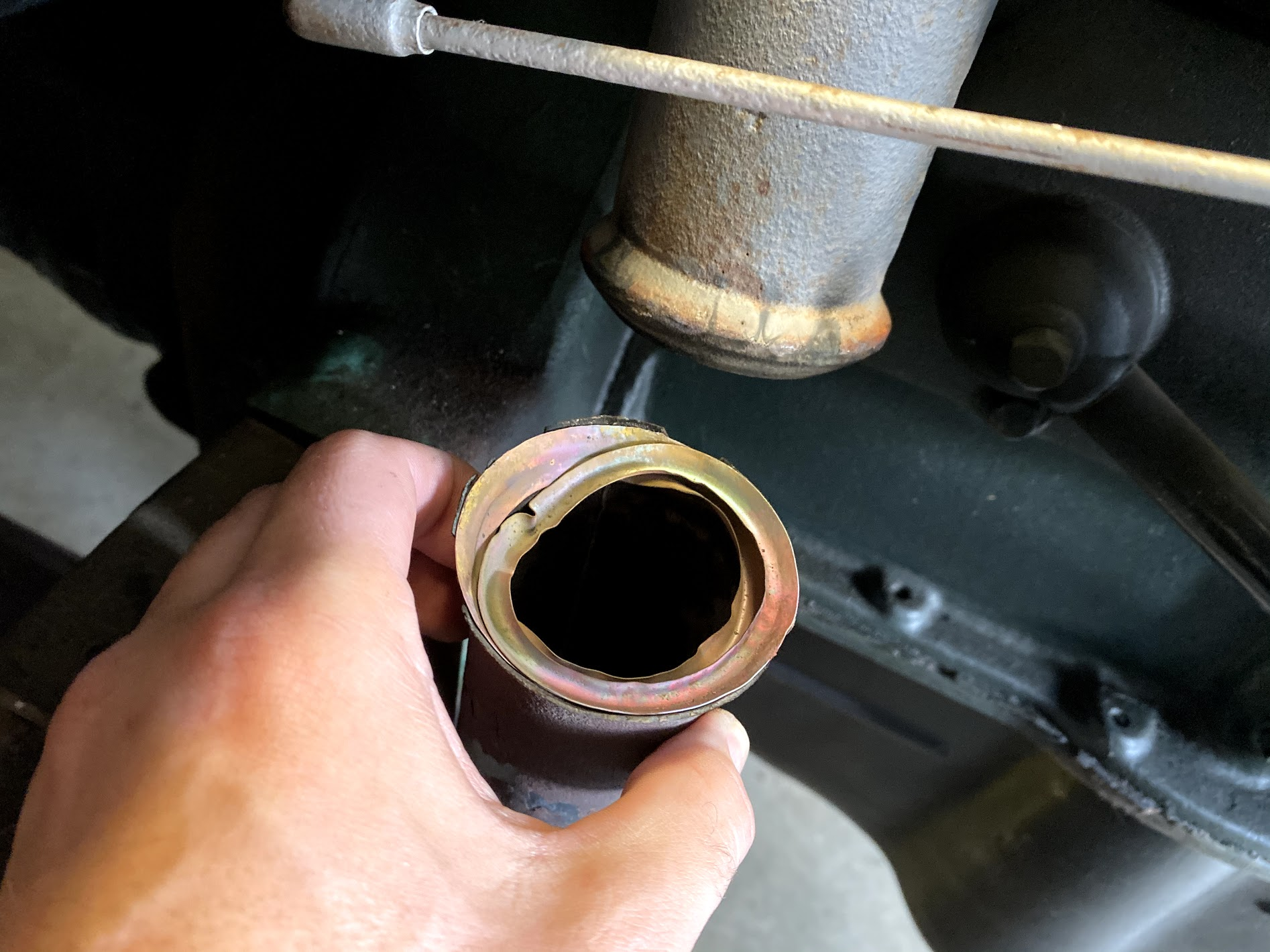 model a exhaust gasket detail