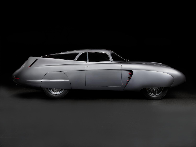 Alfa Romeo bat car side profile