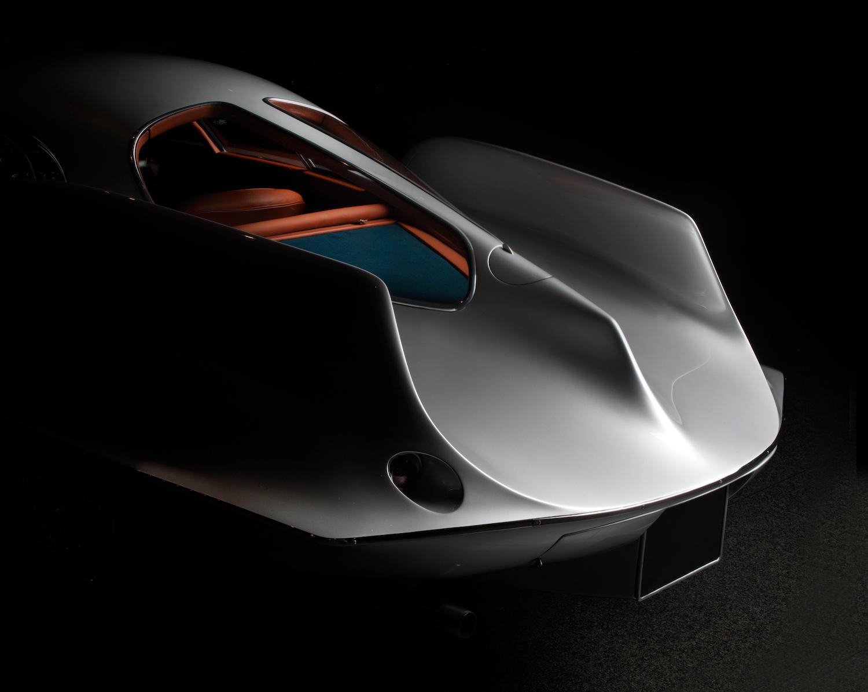 alfa romeo bat car rear detail
