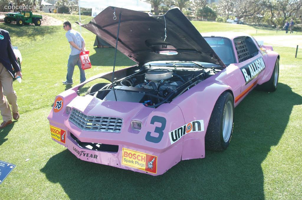 1977 Chevrolet Camaro IROC Race Car