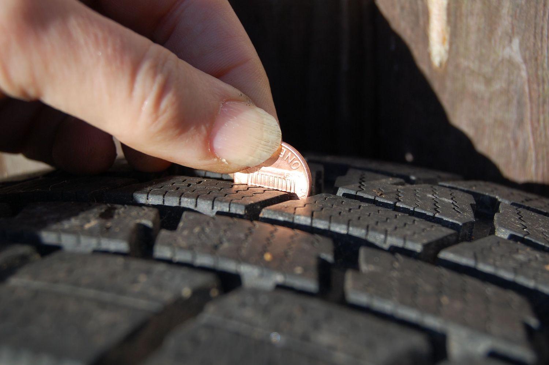 tire tread penny test