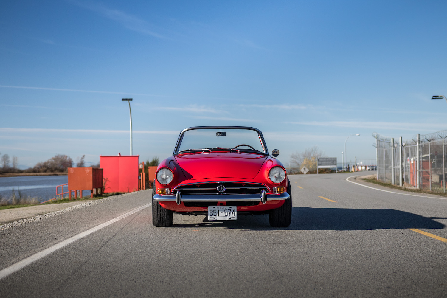 red sunbeam tiger front