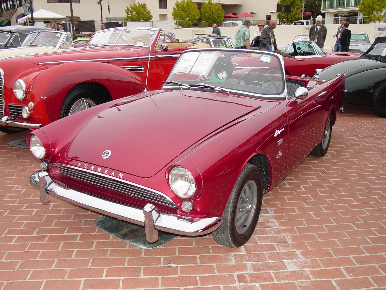 Ken Miles 1963 Sunbeam Tiger Prototype