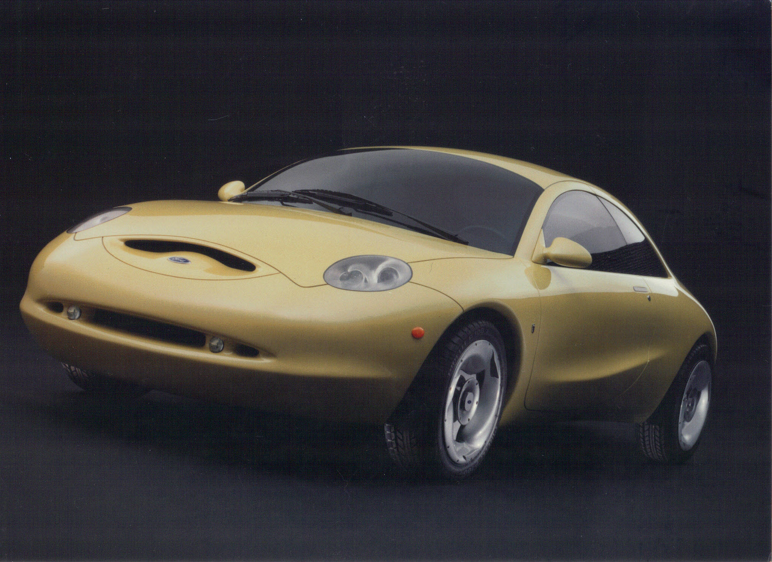 1994 ford ghia vivace concept car front three-quarter