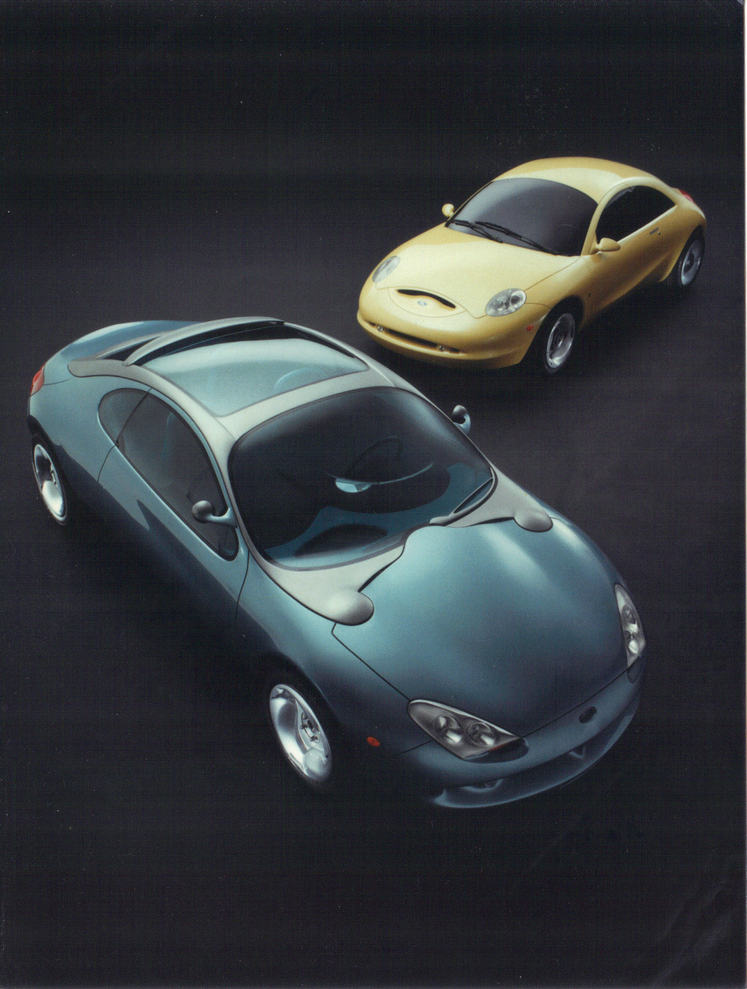 1994 ford ghia vivace concept car with arioso