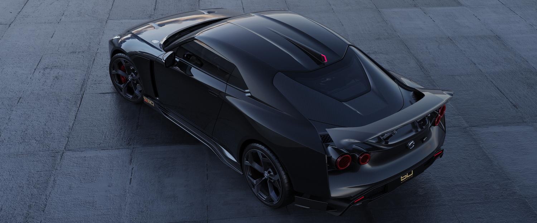 Italdesign GT-R50 black rendering