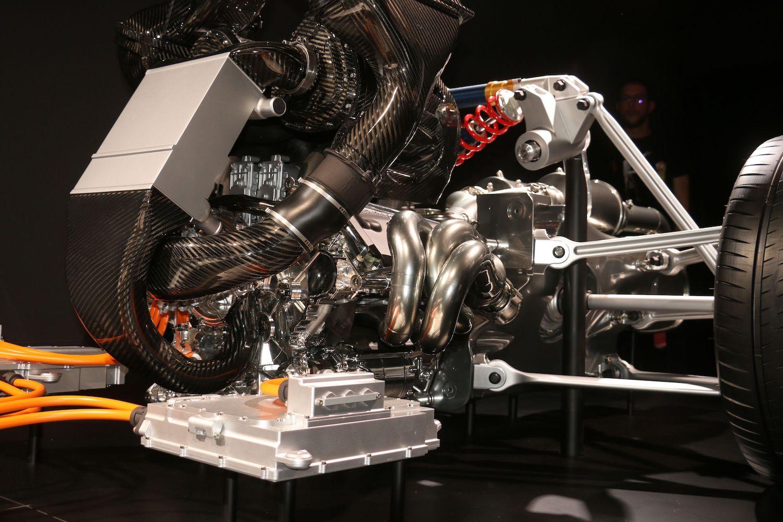 AMG powertrain close up detail