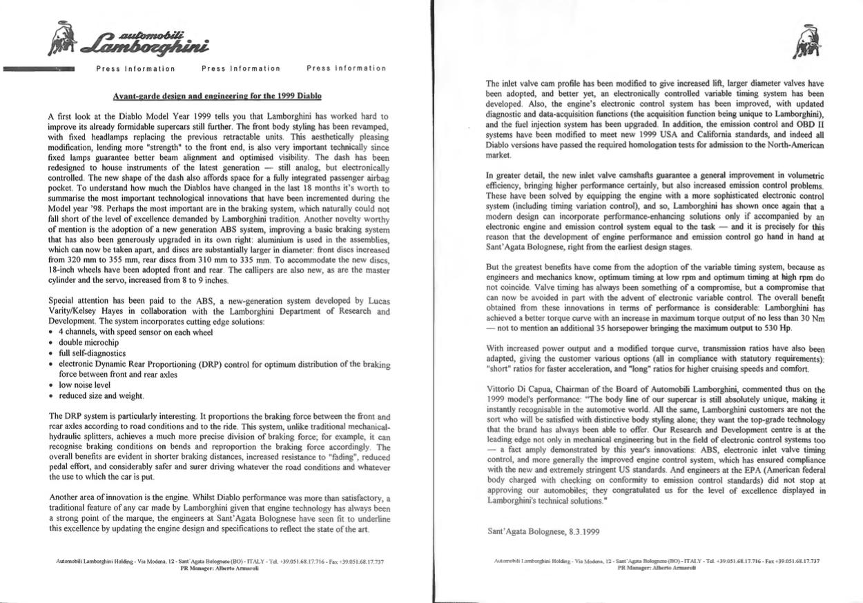 1999 diablo press kit detail