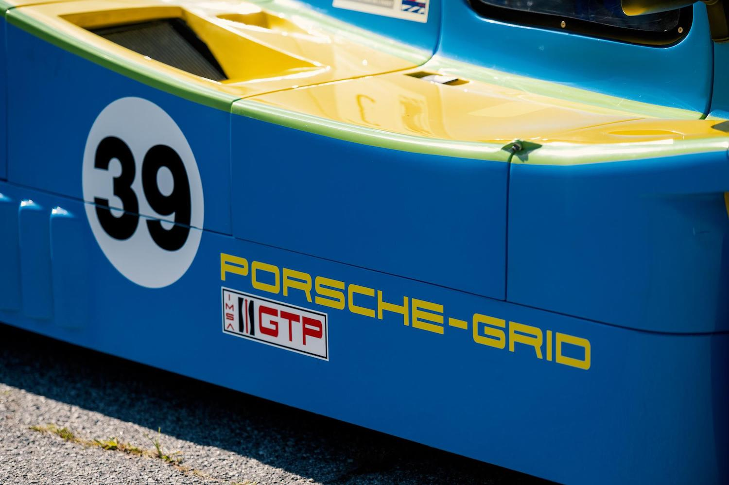 1983 Grid S2 Group C Prototype side detail
