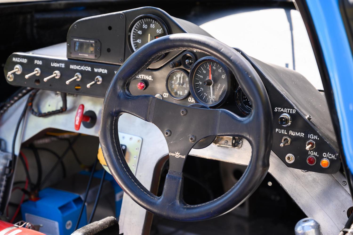 1983 Grid S2 Group C Prototype dash detail