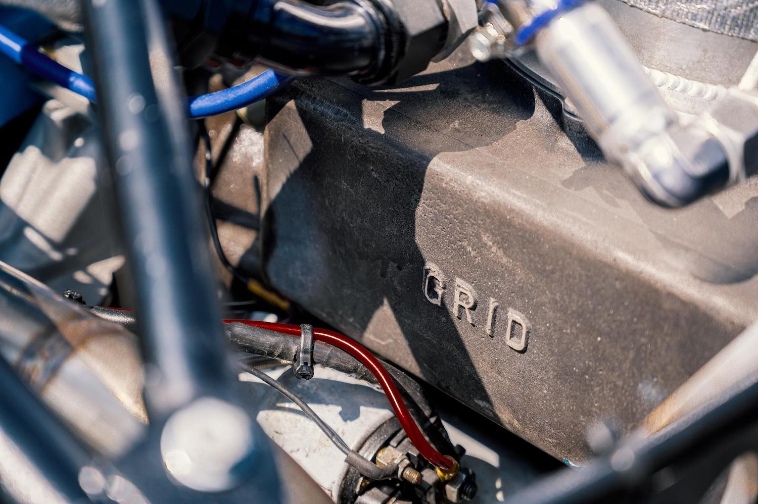 1983 Grid S2 Group C Prototype engine grid detail