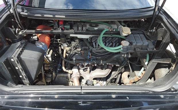 Mosler TwinStar Cadillac Eldorado rear v8 engine